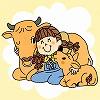 地域に固有の家畜は、人類の貴重な宝