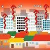 建物のエネルギー消費がもたらす「ヒートアイランド現象」の影響と対策